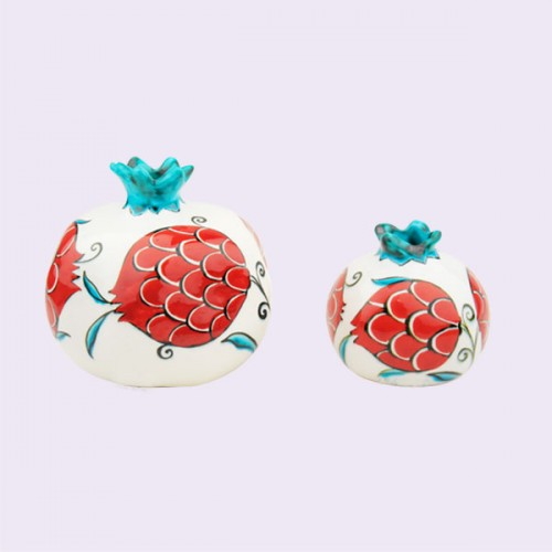 Ceramic Pomegrantes