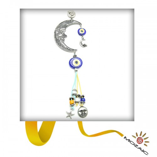 Yellow Beaded Wall Charms