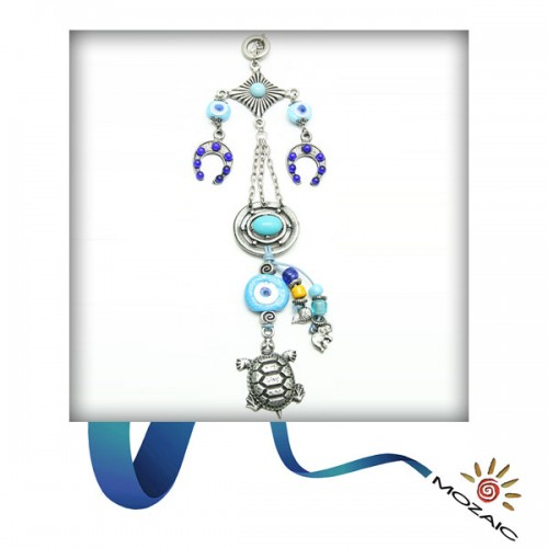 Blue Turtle Wall Charms