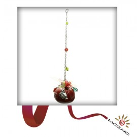 Red Pomegranate Wall Charms